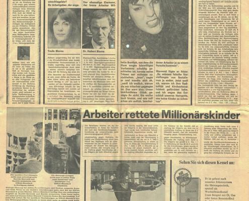 DIE VERLORENE EHRE DER KATHARINA BLUM // Requisiten / Z Zeitung 1b