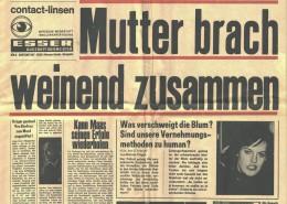 DIE VERLORENE EHRE DER KATHARINA BLUM // Requisiten / Z Zeitung 2a