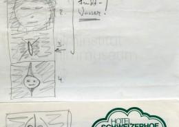 DIE BLECHTROMMEL // Produktionsunterlagen / Storyboard Geburt a