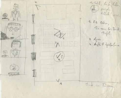 DIE BLECHTROMMEL // Produktionsunterlagen / Storyboard a