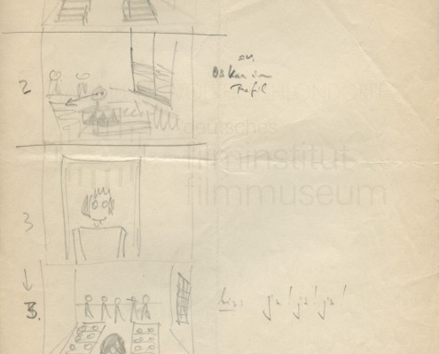 DIE BLECHTROMMEL // Produktionsunterlagen / Storyboard b
