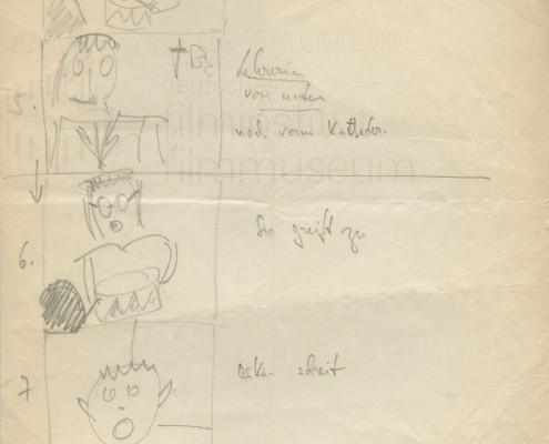 DIE BLECHTROMMEL // Produktionsunterlagen / Storyboard c