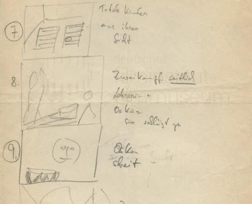 DIE BLECHTROMMEL // Produktionsunterlagen / Storyboard d