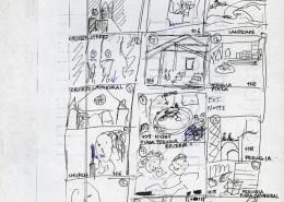 HOMO FABER // Produktionsunterlagen / Storyboard Reise durch Europa 1
