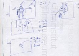 "HOMO FABER // Produktionsunterlagen / Storyboard ""Scene 2"""