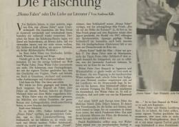 HOMO FABER // Presse / Filmkritik Die Zeit