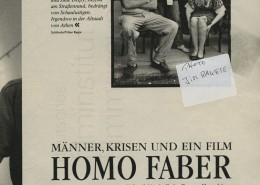 HOMO FABER // Presse / Filmkritik Zeit Magazin b