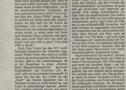 HOMO FABER // Presse / Filmkritik Frankfurter Allgemeine Zeitung