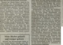 HOMO FABER // Presse / Filmkritik Frankfurter Rundschau a