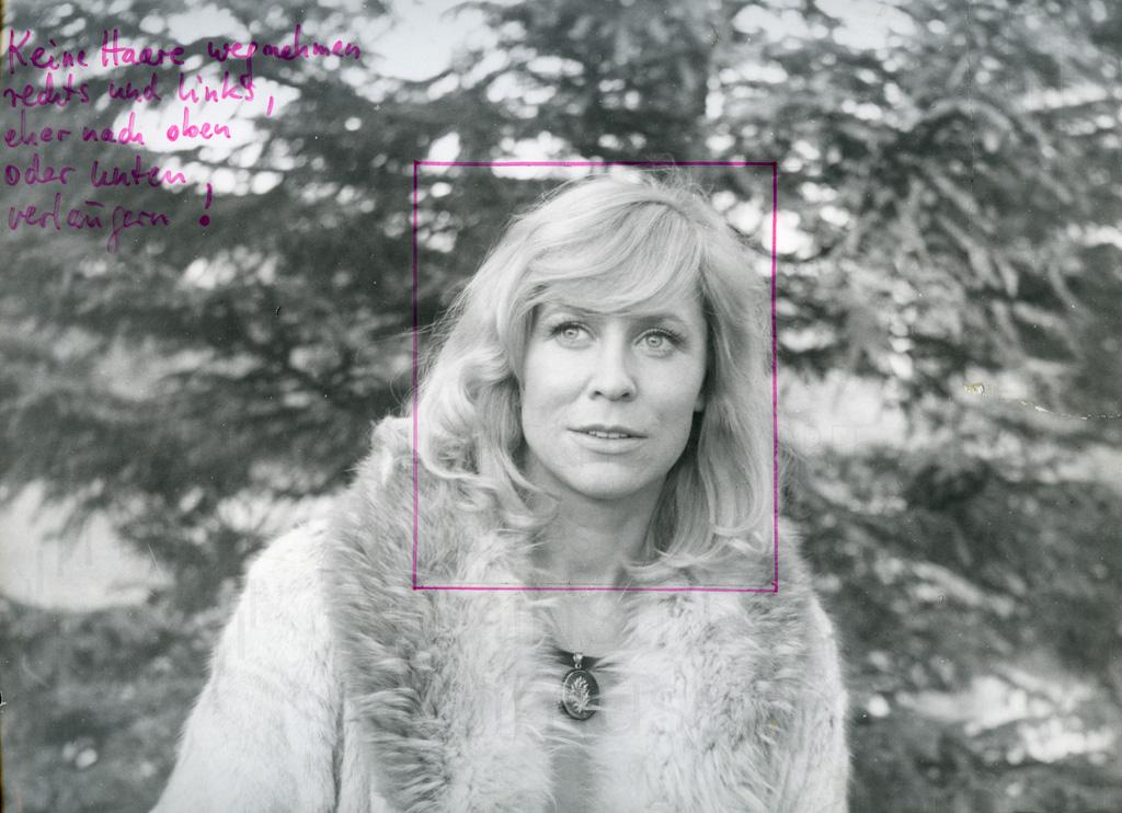 DIE VERLORENE EHRE DER KATHARINA BLUM // Vorbereitungsmaterial / Castingfoto Margarethe von Trotta