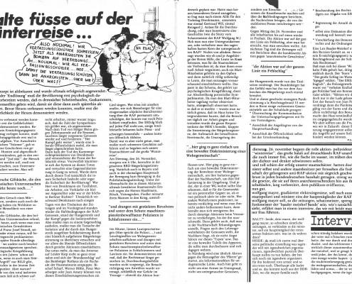 DIE VERLORENE EHRE DER KATHARINA BLUM // Presse / Artikel 35. Blatt - Stadtzeitung für München b