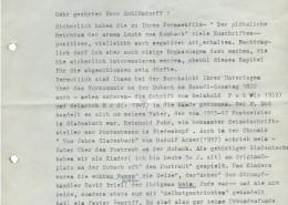 DER PLÖTZLICHE REICHTUM DER ARMEN LEUTE VON KOMBACH // Korrespondenz / Ernst Erd 1