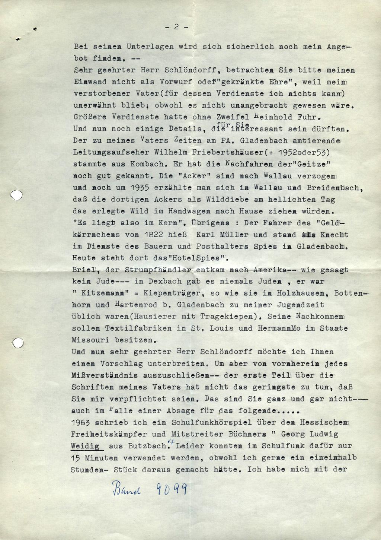 DER PLÖTZLICHE REICHTUM DER ARMEN LEUTE VON KOMBACH // Korrespondenz / Ernst Erd 1a