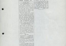 DER PLÖTZLICHE REICHTUM DER ARMEN LEUTE VON KOMBACH // Presse / Daily News