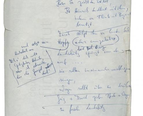 DER PLÖTZLICHE REICHTUM // Notizen zu einzelnen Sequenzen 2
