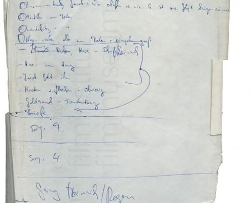 DER PLÖTZLICHE REICHTUM DER ARMEN LEUTE VON KOMBACH // Notizen zu einzelnen Sequenzen 3