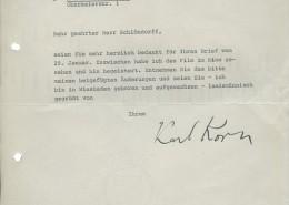 DER PLÖTZLICHE REICHTUM DER ARMEN LEUTE VON KOMBACH // Korrespondenz / Karl Korn