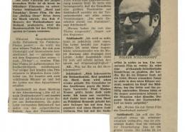 MORD UND TOTSCHLAG // Presse / Filmkritik Abendzeitung München