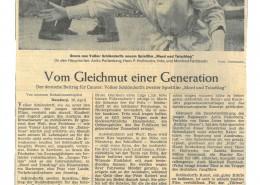 MORD UND TOTSCHLAG // Presse / Filmkritik Die Welt