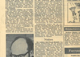 MORD UND TOTSCHLAG // Presse / Wiesbadener Tagblatt