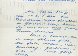 DER JUNGE TÖRLESS // Korrespondenz / Tieschowitz 1