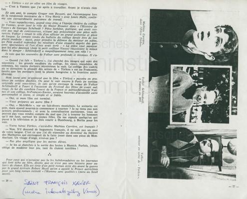 DER JUNGE TÖRLESS // Presse / Internatszeitung 001a