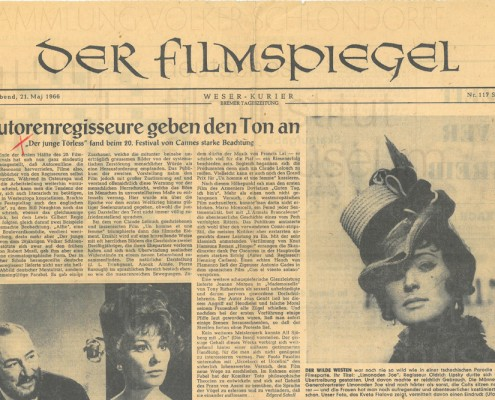 DER JUNGE TÖRLESS // Presse / Filmkritik Weser Kurier