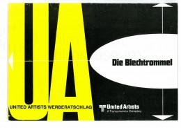 DIE BLECHTROMMEL // Werbung und Verleih / Werberatschlag von United Artists