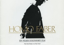 HOMO FABER // Presse / Presseheft
