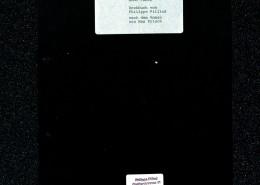 HOMO FABER // Vorbereitungsmaterial / Erste Fassung Drehbuch Pilliod (Auszug) a