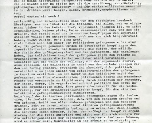 DIE VERLORENE EHRE DER KATHARINA BLUM // Vorbereitungsmaterial / Ulrike Meinhofs Aktionsprogramm b