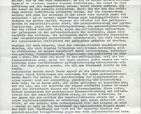 DIE VERLORENE EHRE DER KATHARINA BLUM // Vorbereitungsmaterial / Ulrike Meinhofs Aktionsprogramm c