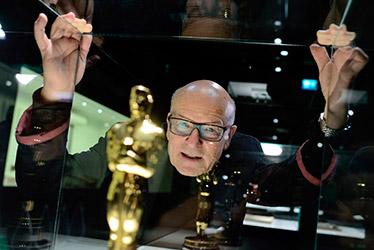28.3.2013: Volker Schlöndorff zu Gast im Deutschen Filmmuseum. Foto: Thomas Lohnes, Quelle: Deutsches Filminstitut