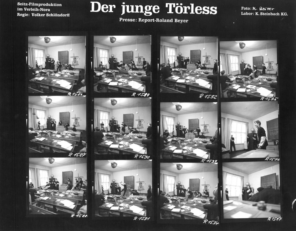 DER JUNGE TÖRLESS // Fotos / Kontaktbogen 3