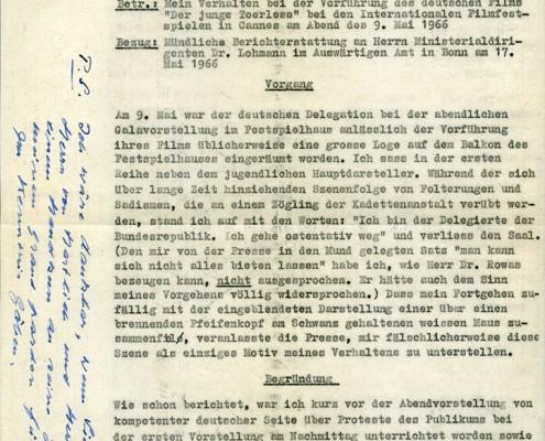 DER JUNGE TÖRLESS // Korrespondenz / Tieschowitz 2