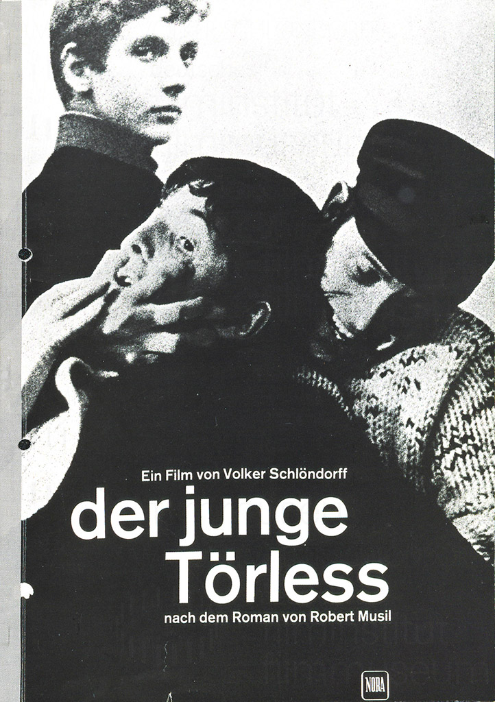 DER JUNGE TÖRLESS // Presseheft / Cover
