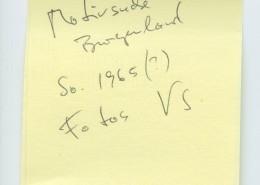 DER JUNGE TÖRLESS // Vorbereitungsmaterial / Motivsuche 1, Post-It