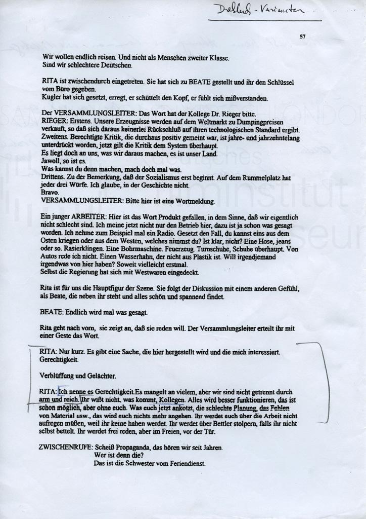 DIE STILLE NACH DEM SCHUSS // Vorbereitungsmaterial / Drehbuchnotizen 7