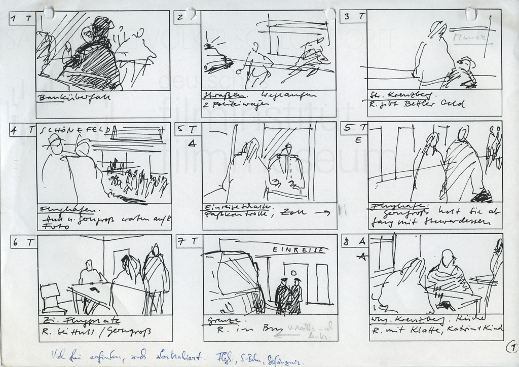 The Legend Of Rita  Production Material  Storyboards Film Leader