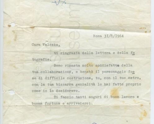 KALEIDOSKOP VALESKA GERT // Sonstiges / Brief Fellini