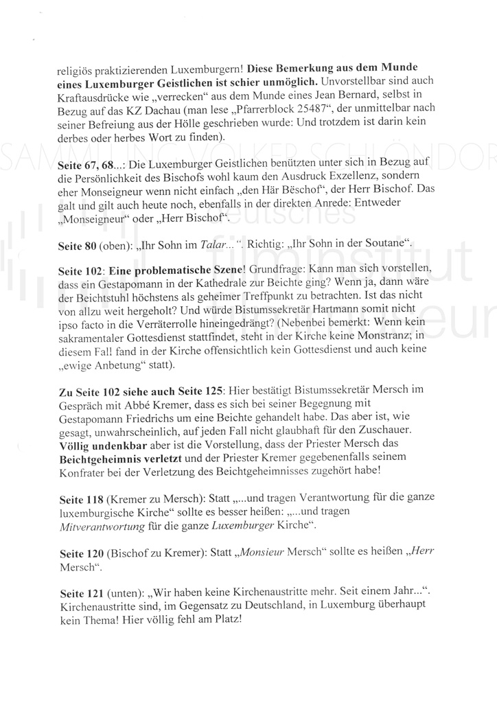 DER NEUNTE TAG // Korrespondenz / Léon Zeches, 1c