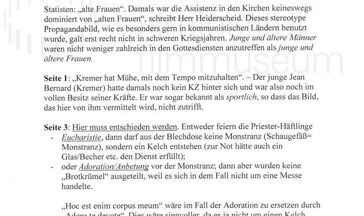 DER NEUNTE TAG // Korrespondenz / Léon Zeches, 2