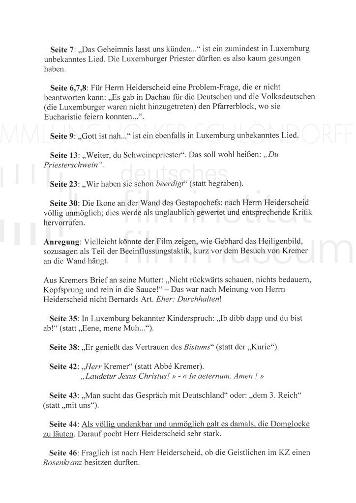 DER NEUNTE TAG // Korrespondenz / Léon Zeches, 2a