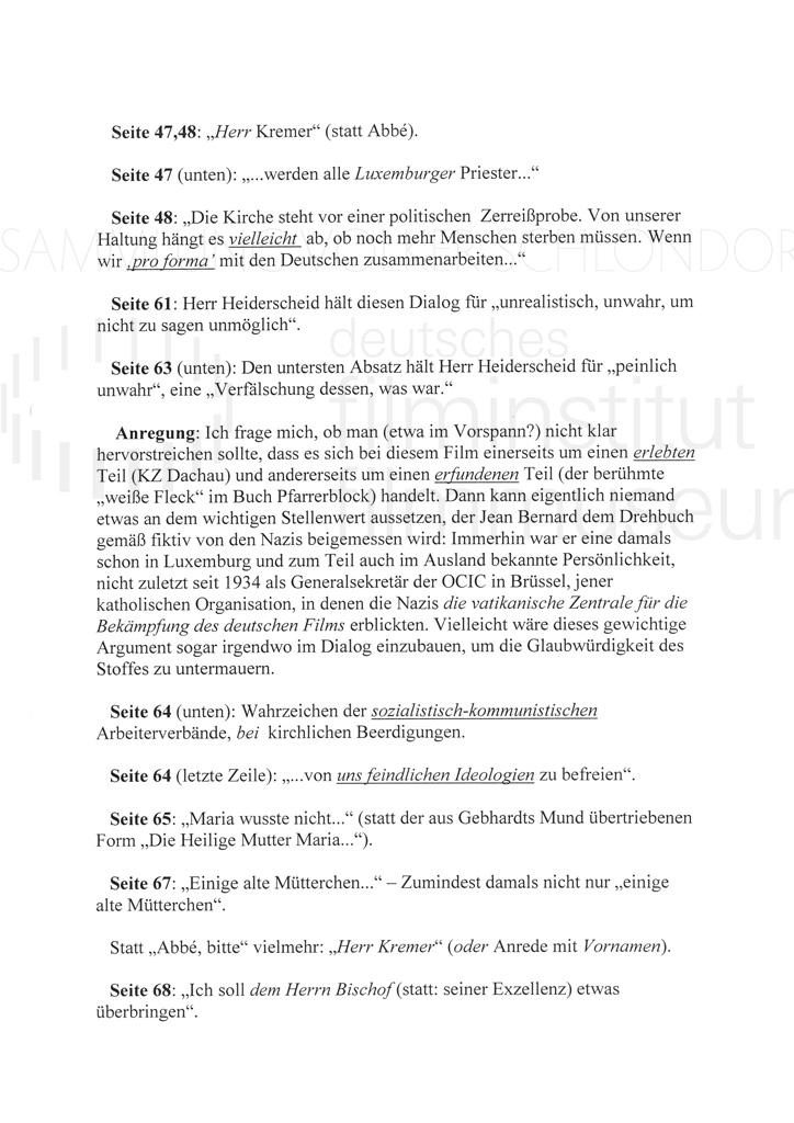 DER NEUNTE TAG // Korrespondenz / Léon Zeches, 2b