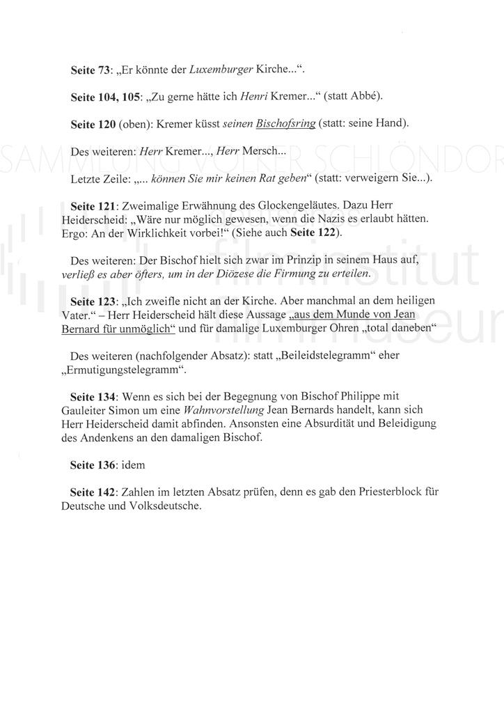 DER NEUNTE TAG // Korrespondenz / Léon Zeches, 2c