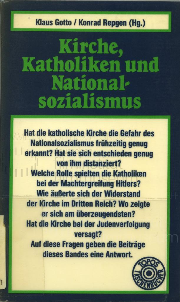 DER NEUNTE TAG // Vorbereitungsmaterial / Kirche, Katholiken und Nationalsozialismus