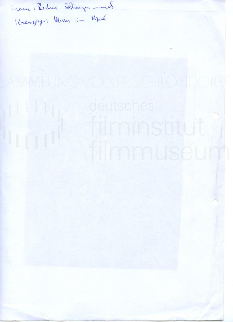 DER NEUNTE TAG // Vorbereitungsmaterial / Motivsuche, 10a