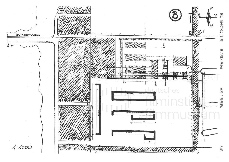 DER NEUNTE TAG // Vorbereitungsmaterial / Location, 1a