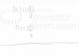 DER NEUNTE TAG // Produktionsmaterial / Notizen, 2