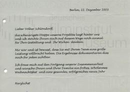 DER NEUNTE TAG // Korrespondenz / Jürgen Haase, 2